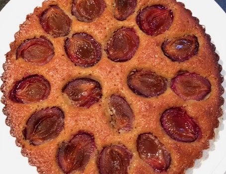 Italian Plum and Almond Cake